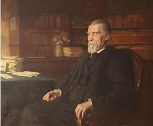 Wilhelm Raabe (8 september 1831 - 15 november 1910) - Portret door Wilhelm Immenkamp, 1909