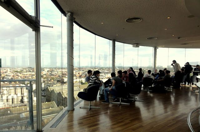 Travel & Lifestyle Diaries: Gravity Bar at Guiness Museum in Dublin
