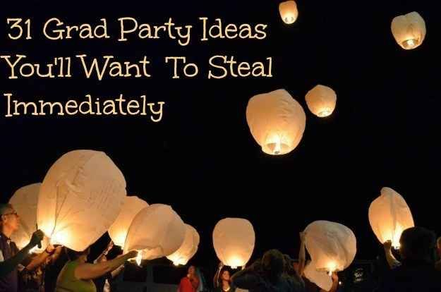 31 Grad Party Ideas You'll Want To Steal Immediately