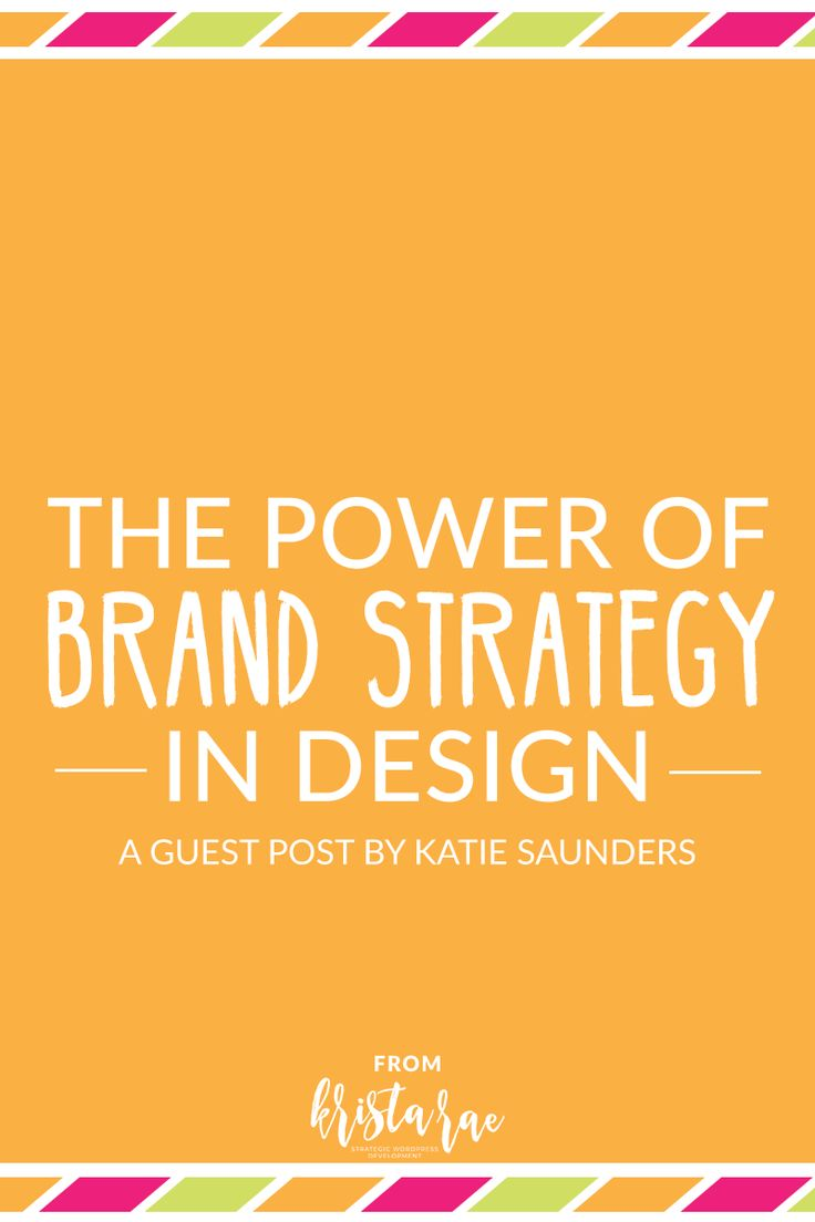 The Power of a Brand Strategy in Design