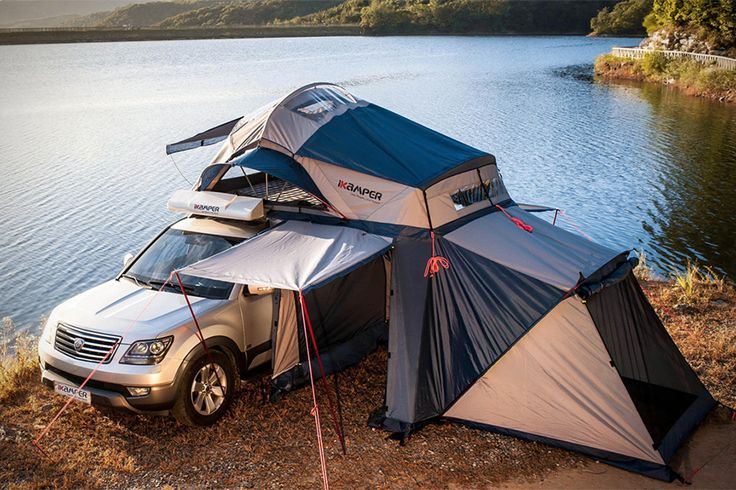 Road Trip Roof Top Tent love the skylight for star watching!