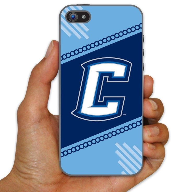 Creighton University Clear Plastic Slim Case for iPhone 5c - Circles