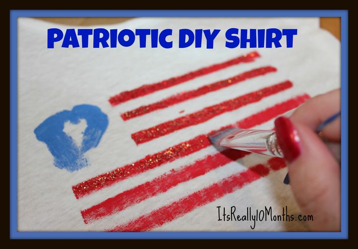 Cute and Easy Labor Day Shirt for kids! Idea / Crafts / Party / Tutorial /