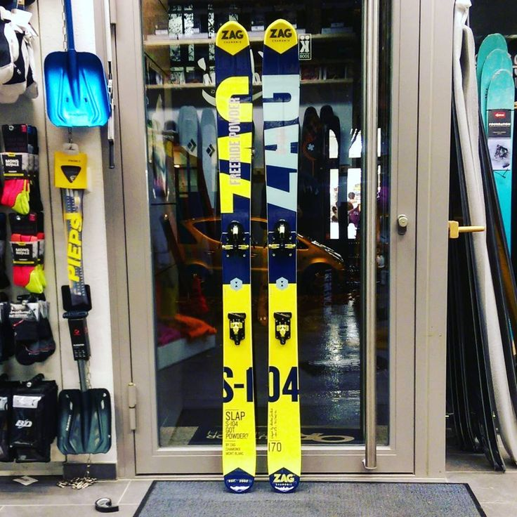 The S-104. Short double rocker on a narrow waist delivers fun, but without allowing the laziness. Serious versatility at it's best. Combined with the ATK Freeraider 14 a very rare setup that will turn some heads and slay some untracked pow. #zagskis #atkbindings