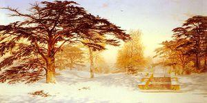 Neige immaculée la terrasse - (Andrew Maccallum)