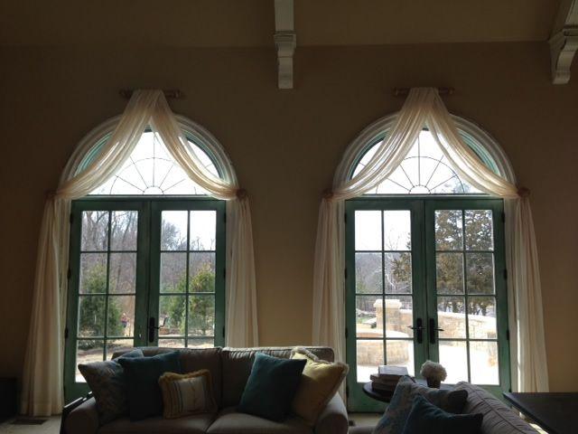 Curtains Ideas curtains for half moon windows : 17 best ideas about Half Moon Window on Pinterest | Arched window ...
