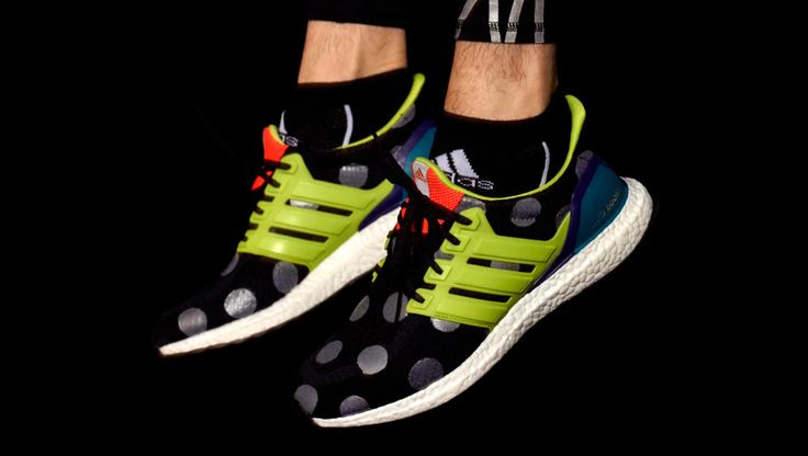 Kolor x adidas Ultra Boost 2016 On Feet #adidas #sneakers #trainers #kolor