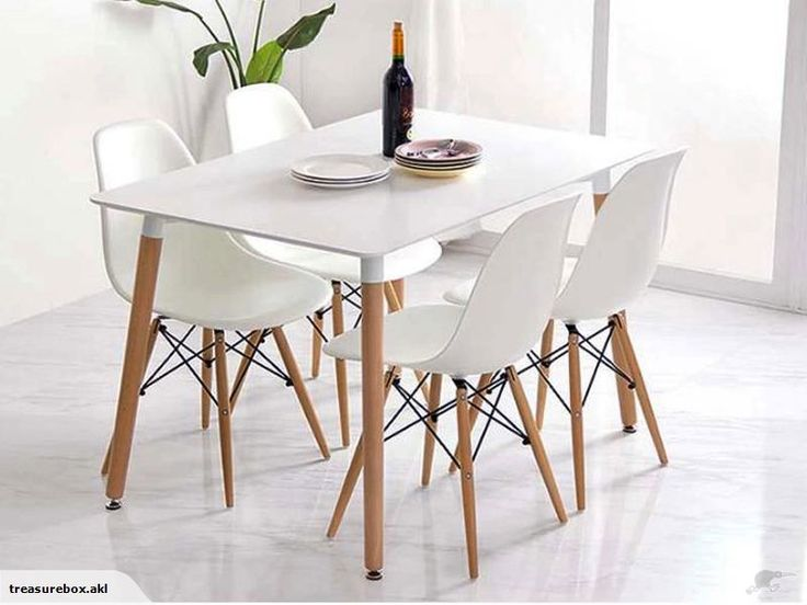 Eiffel Tower Replica Dining Chair WHITE - SET OF 4 | Trade Me