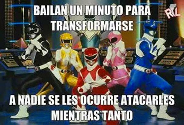 El baile de los Power Rangers. #humor #risa #graciosas #chistosas #divertidas