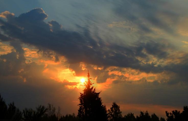September 11th 2012: Sunrise for an Indian Summer Day in Helsinki?
