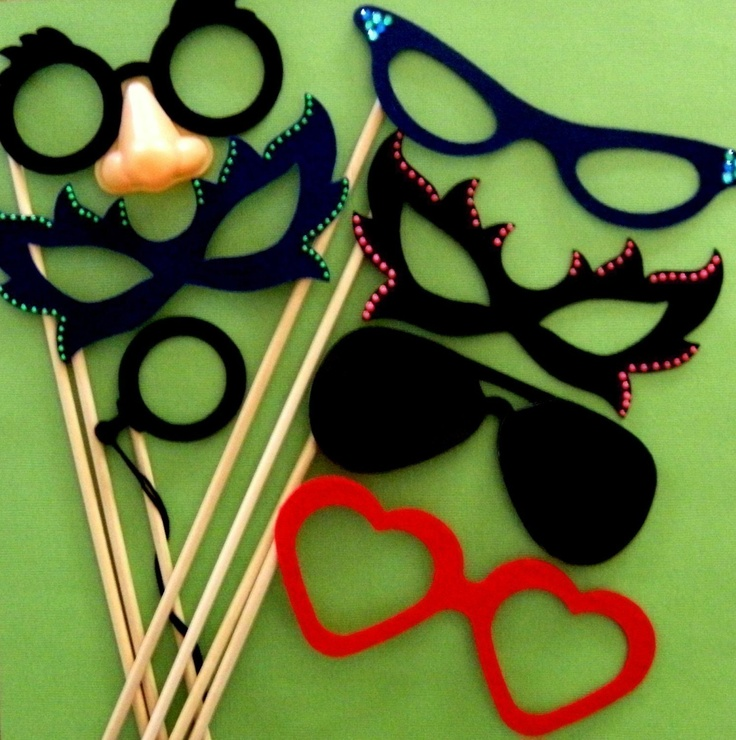 Photo Booth Prop Ideas: 17 Best Images About Photo Booth Ideas On Pinterest