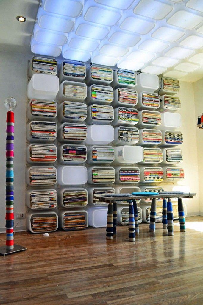 Ikea hack: speelgoedopbergdoos wordt de allerhipste boekenkast Roomed | roomed.nl Ikea trofast