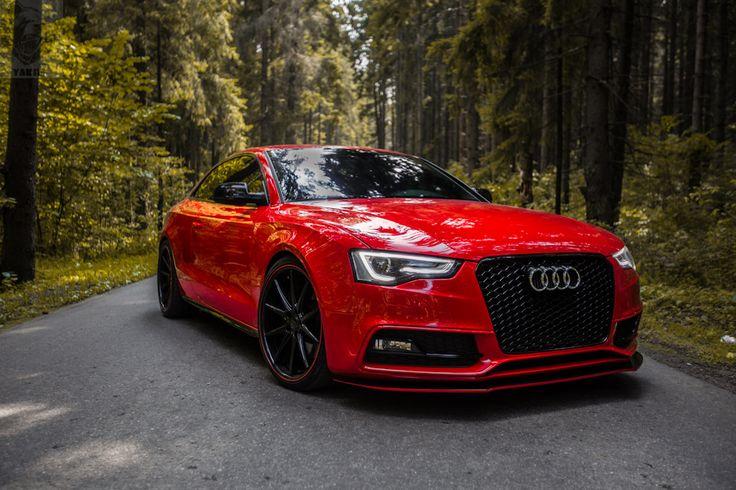 Audi a5 red