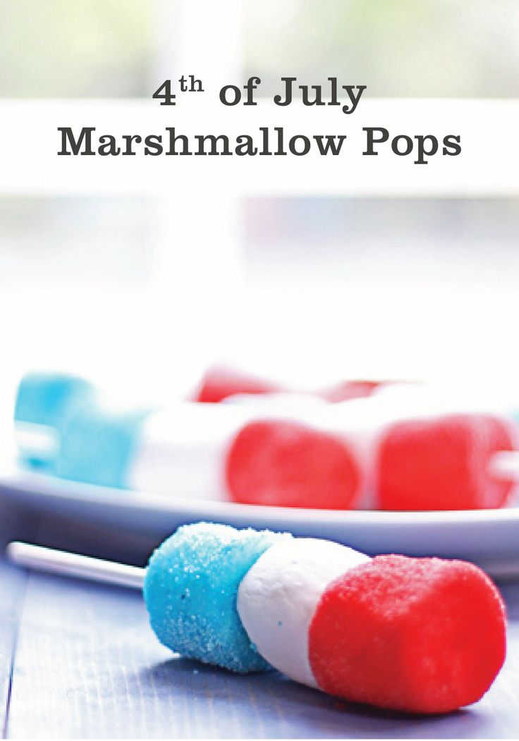 4th of july marshmallow recipes