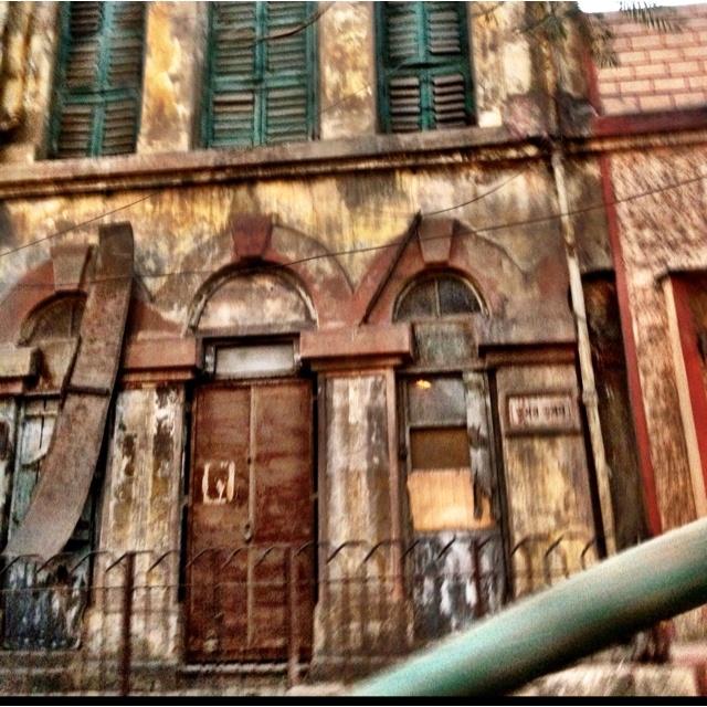 What lies behind these walls.....what history brings forward....Innocent kolkata