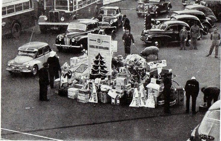 Natal do Sinaleiro. Revista ACP Dezembro de 1953,  Restauradores, Lisboa