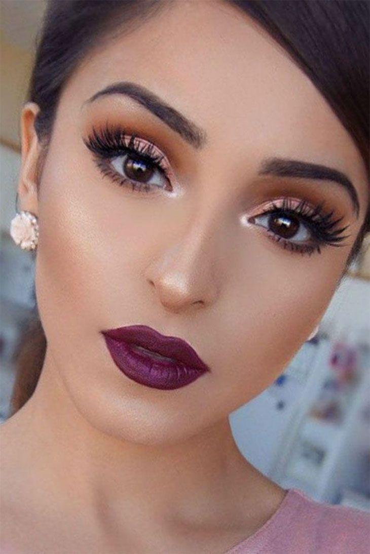 36 Pretty Rose Gold Makeup Ideas for Women – pinbeauty