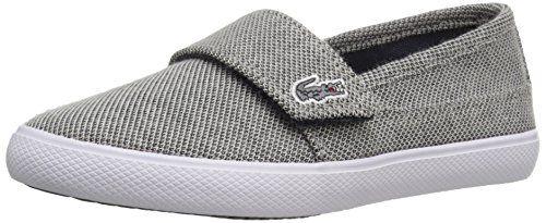 Lacoste Marice 216 1 SPI NVY Slip On Sneaker (Toddler/Little Kid)