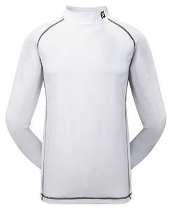 Footjoy Performance Baselayer Mock Hvid