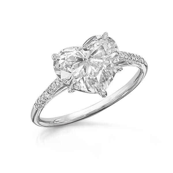 Top 25 Best Heart Shaped Diamond Ideas On Pinterest Heart Shaped Rings He
