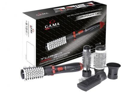 Escova Rotativa Gama Italy Turbo ion 3000 - Cerâmica com Íons 2 Velocidades com as melhores condições você encontra no Magazine Tradelux. Confira!