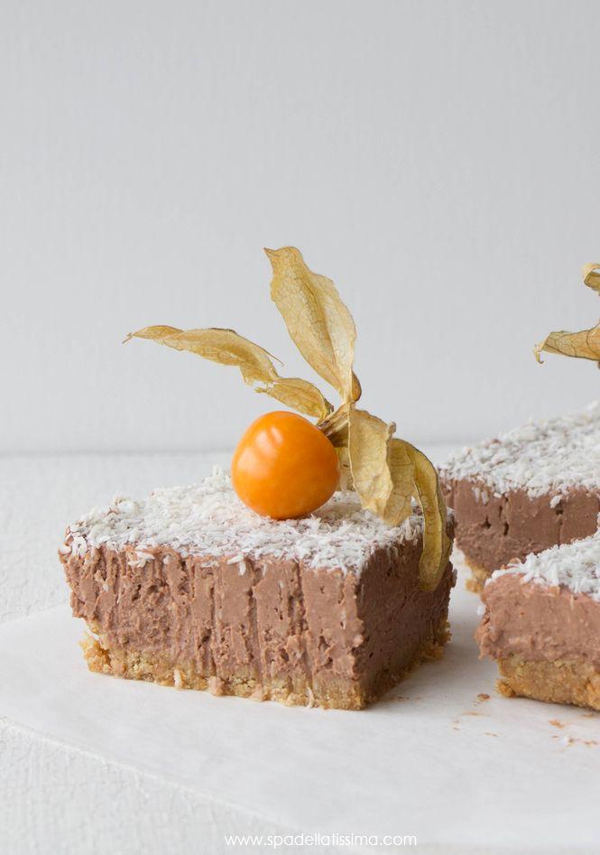Spadellatissima!: Cheesecake cocco e cioccolato