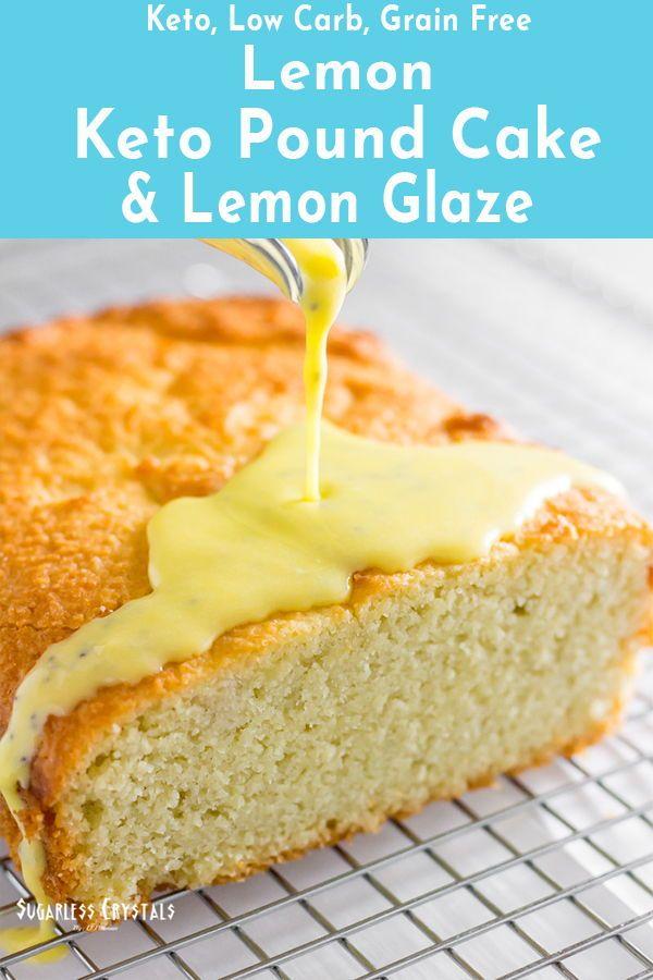 Lemon Keto Pound Cake Low Carb Sugar Free Gluten Free Recipe Sour Cream Pound Cake Coconut Flour Recipes Recipes