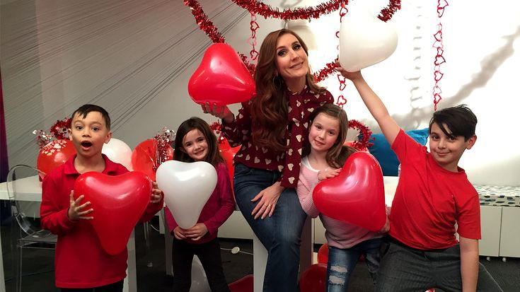 A lesson in love from some fresh faces - Jessi Cruickshank talks to kids about the meaning of Valentine's Day