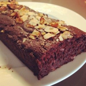 Suikervrije en glutenvrije brownie - De Loopgekke Keukenprinses