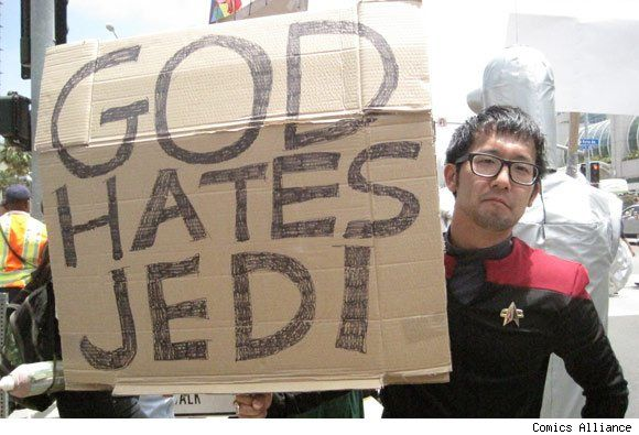 The time when Westboro tried to protest Comic-Con and they were basically humiliated by nerds who were 10,000x times smarter than them: