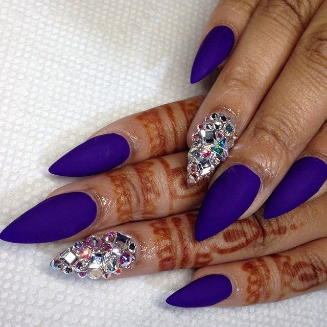 Love the matte and the crystal