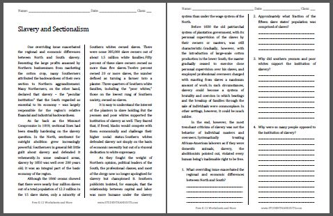 american sectionalism essay The sectionalism is one of the most popular assignments among students' documents if you are stuck with writing or missing ideas, scroll down and find inspiration in the best samples sectionalism is quite a rare and popular topic for writing an essay, but it certainly is in our database.