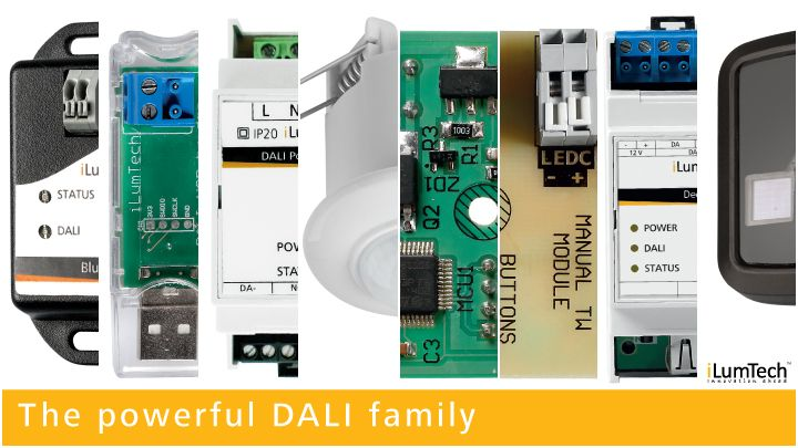 DALI easy as never before. For offices, restaurants, schools, banks, factories, warehouses. From DALI Power line communication, through DALI interfaces, sensors, tunable white modules or DALI relays, all of these items you can use for control of your DALI devices, without a need of a DALI specialist. Applications are available for iOS, Windows and Android platform.