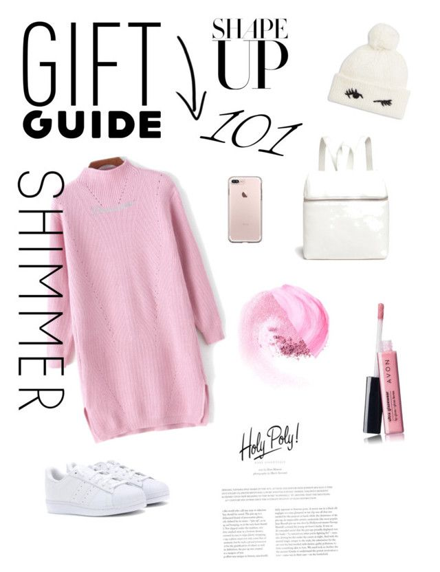 """""""Freeze!"""" by seventynineseconds on Polyvore featuring Kara, adidas Originals, NARS Cosmetics, Avon, Anna Lou of London and Kate Spade"""