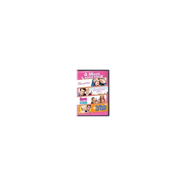 4 Movie Laugh Pack:Pillow Talk/Lover (Dvd)