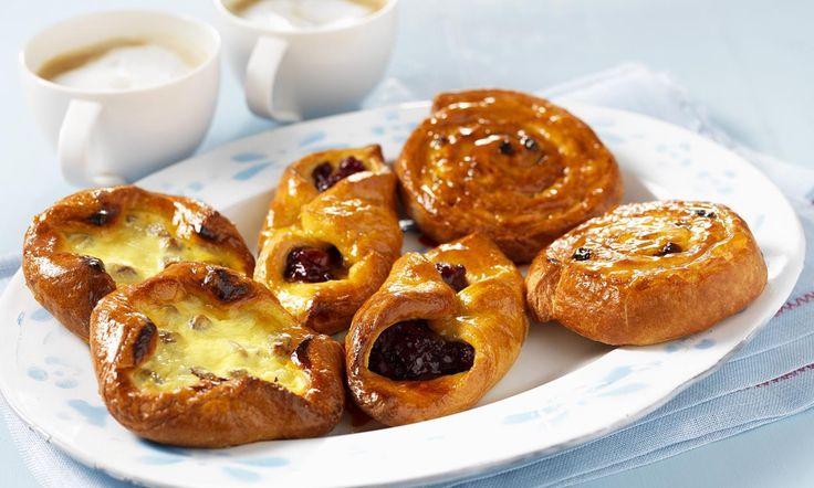 Deense koffiebroodjes Kwarkvlaaitjes recept | Dr. Oetker