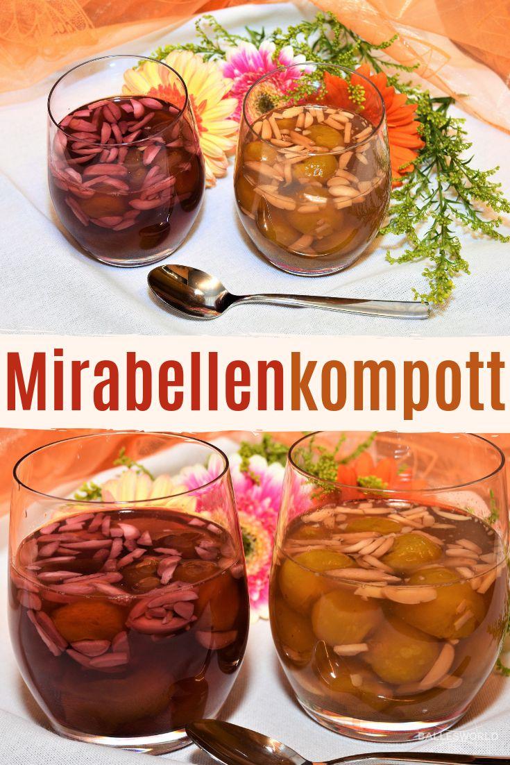 Mirabellenkompott | Rezept | Mirabellenkompott, Kompott