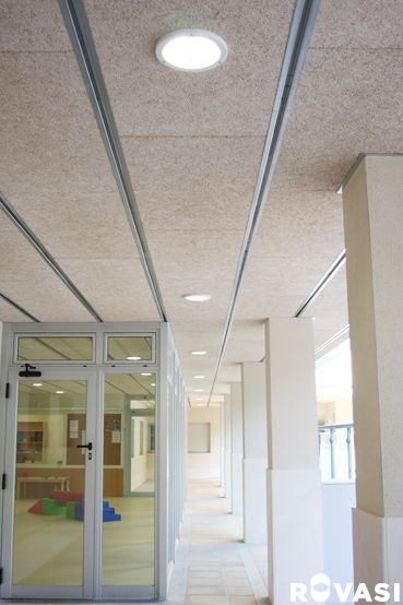 NURSERY GALATEA. Barcelona. DOWNLIGHTS + IP Accessory. Recessed downlights with IP65 from underneath accessory. ROVASI BOOK 11-12.