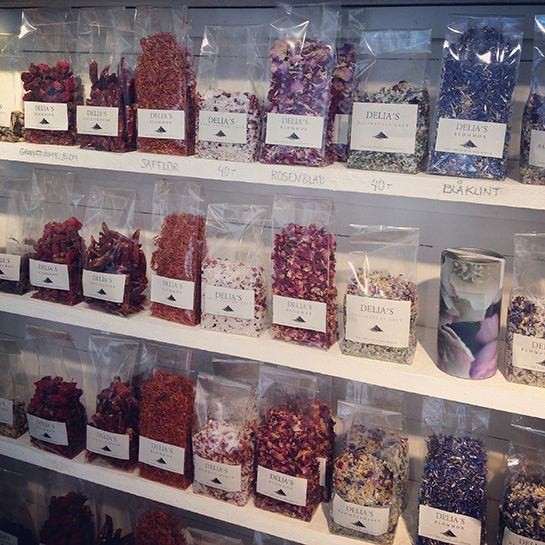 C. Jensen, Delia's & FAB.VISBY –  Spices & Herbs from Delia in Visby, Gotland. Gotlandstips.se