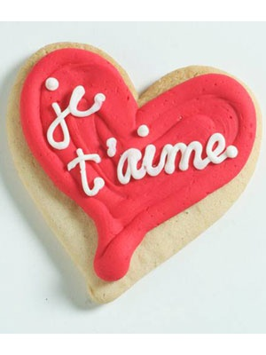 Cute V-Day Cookie