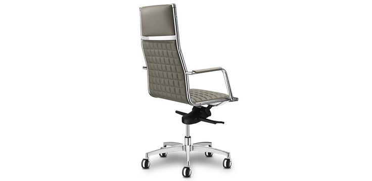 Chaise Bureau Design Vega par Sitland, Design Sergio Bellin