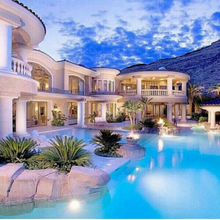 Luxury Mansions With Swimming Pools: 514 Best Dream Home Images On Pinterest