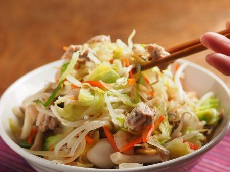 シーフードミックスで野菜特盛り海鮮ちゃんぽん 魚料理と簡単レシピ