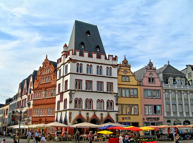 Hauptmarket, Trier, Germany.....Loved going here to shop, especially during Christmas time!