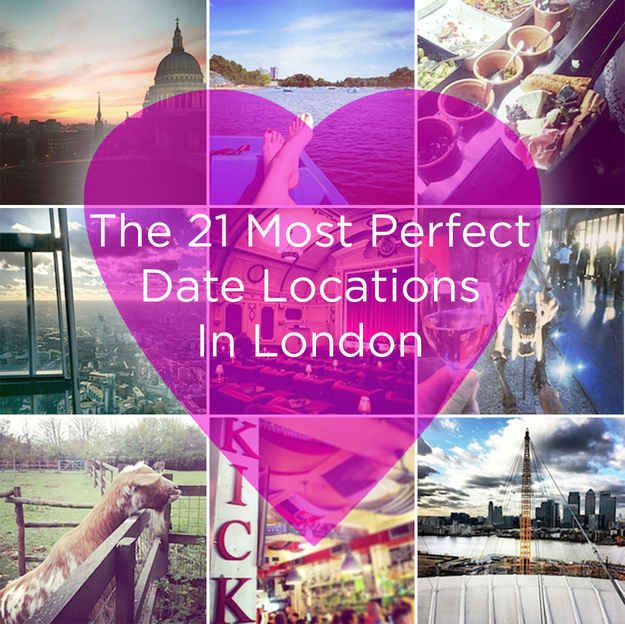 Date places in london