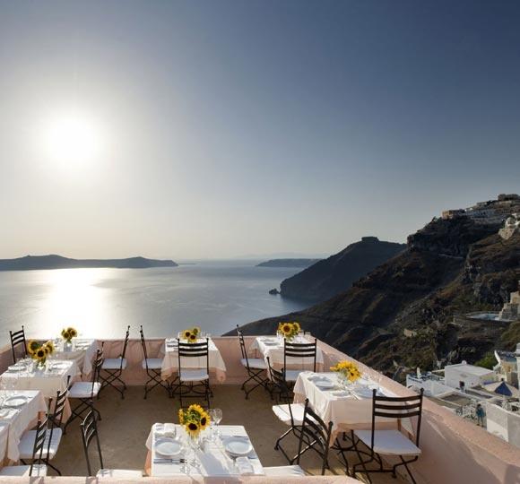 Dinner our last night in Santorini @ Sphinx.