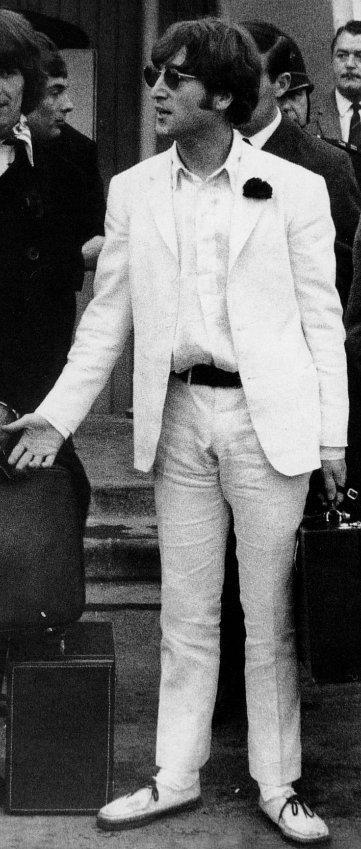 """John Lennon, 1966. """"We've got this gift of love, but love is like a precious plant. You can't just accept it and leave it in the cupboard or just think it's going to get on by itself. You've got to keep watering it. You've got to really look after it and nurture it."""""""