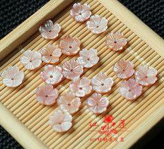 Diy цветок натуральный розовый оболочки оболочки цветок чаша перспектива крышки сосуда материал аксессуары аксессуары для волос шпилька серьги брошь