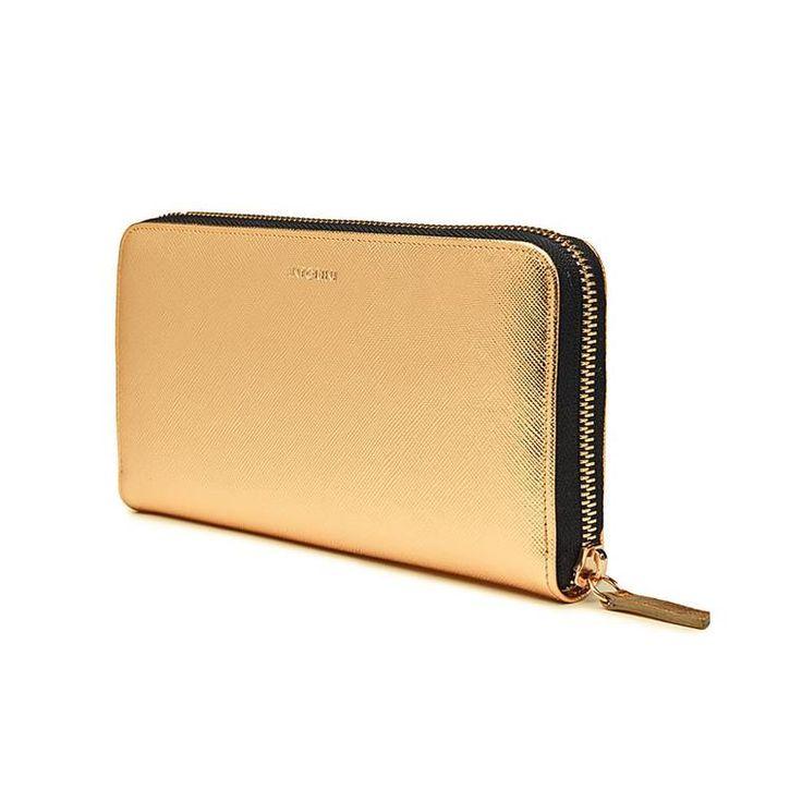 Luxurious Ladies ANTORINI City Wallet in Gold