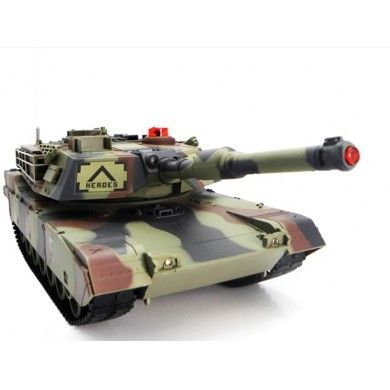 Kolejnym modelem dostępnym w naszym sklepie jest Zdalnie Sterowany Czołg Abrams M1A2 RTR 1:24.  Nowy model stanowi replikę czołgu Abrams M1A2. Został wykonany z wysokiej jakości tworzyw sztucznych z dużą dbałością o najdrobniejsze szczegóły.  Chcesz wiedzieć więcej? Zobacz opis, dane techniczne, komentarze oraz film Video. Nie ma jeszcze komentarzy, to czemu nie zostawisz swojego:)  #czolg #abrams #m1a2 #model #rc #zdalnie #sterowany #pilota